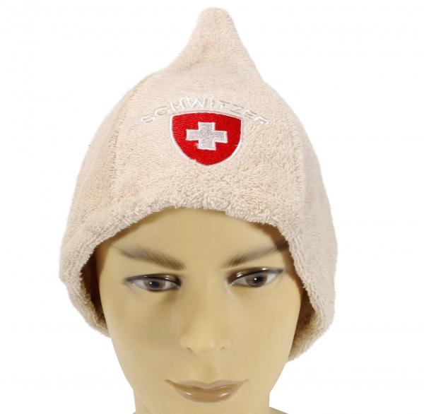 Saunahut Schweiz Saunamütze