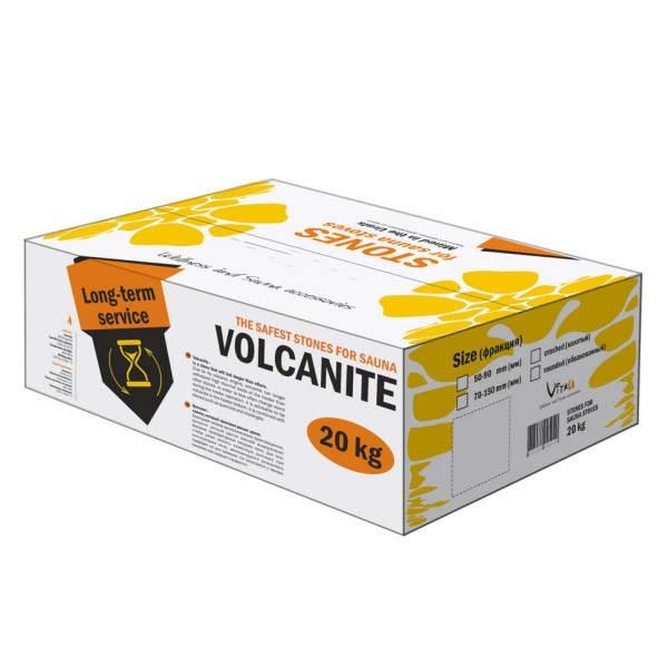 Saunasteine Vulkanit für Elektroöfen 20 kg, 50-90 mm