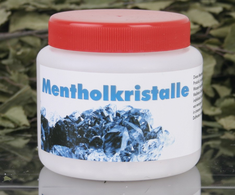 Mentholkristalle 100 Gramm