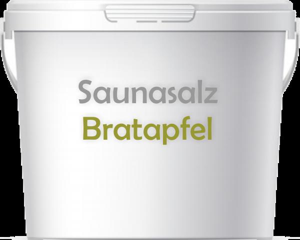 Premium Saunasalz Bratapfel mit Arganöl angereichert