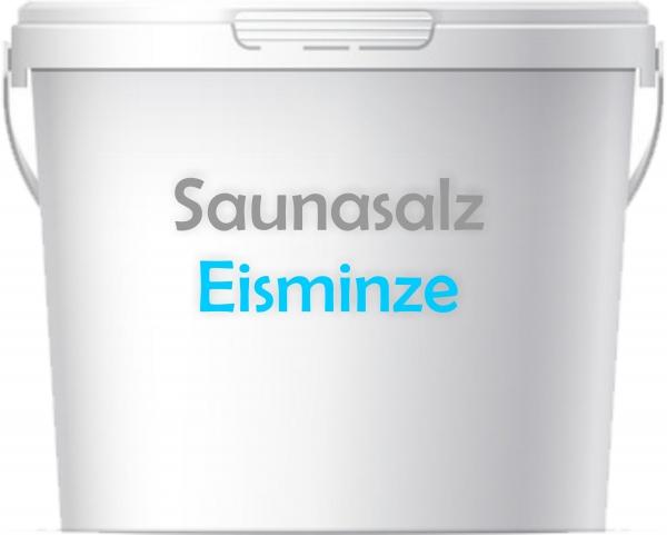 Premium Saunasalz Eisminze mit Arganöl angereichert