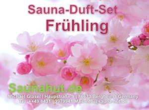 Sauna Duft Set Box Frühjahr 5 x 100 ml