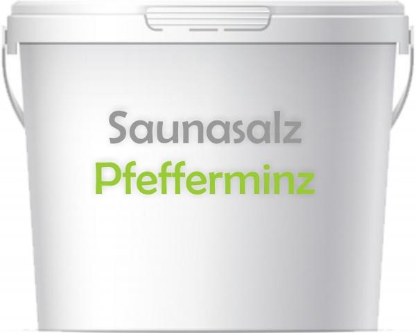 Premium Saunasalz Peppermint mit Arganöl
