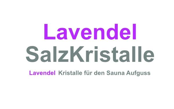 Lavendel Salzkristalle 500 Gramm
