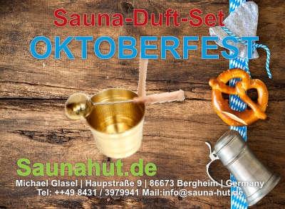 Sauna Duft Set Box Oktoberfest 5 x 100 ml