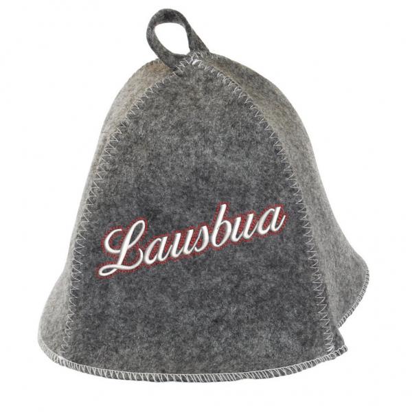 "Saunhut ""Lausbua"" aus Soft-Filz"
