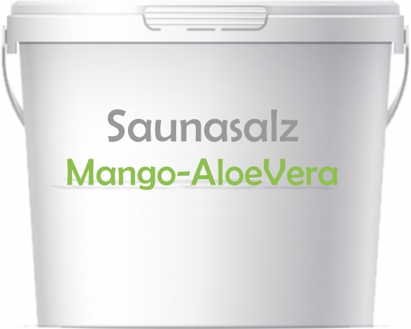 Premium Saunasalz Mango-Aloe mit Arganöl