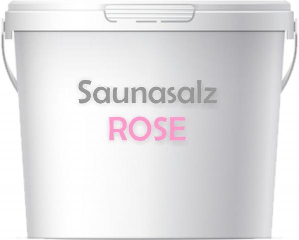 Premium Saunasalz Rose mit Arganöl