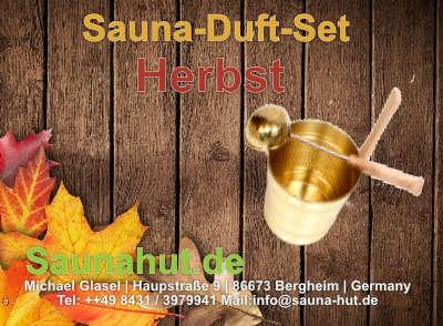 Sauna Duft Set Box Herbst 5 x 100 ml
