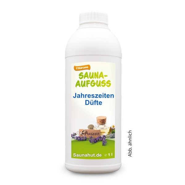 Jahreszeiten Saunadüfte 1 Liter 24 verschiedene Düfte