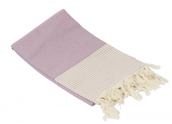 Fouta Honeycump Altrose