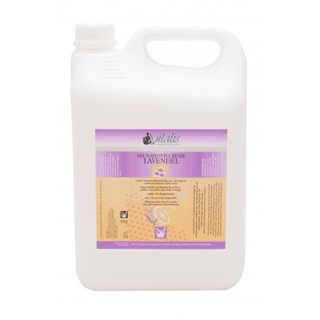 Saunahonigcreme Saunahonig Lavendel 5 Liter Kanister