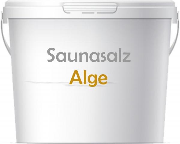 Premium Saunasalz Alge mit Arganöl angereichert