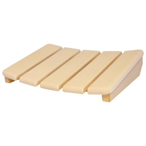 Sauna-Kopfstütze Luxus aus Abachi-Holz