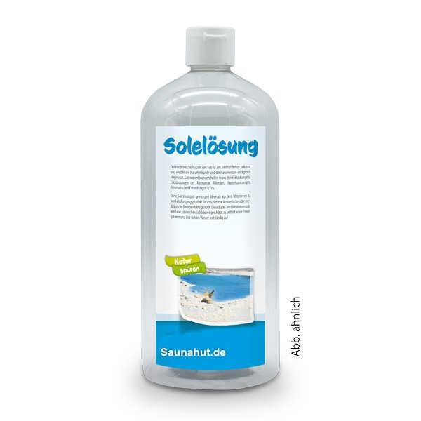 Dampfbad Solelösung 1 Liter
