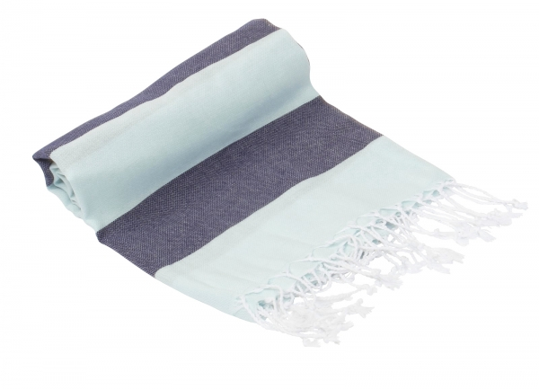 Hamamtuch Pestemal Summer Mint-Blau