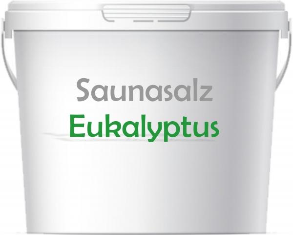 Premium Saunasalz Eukalyptus mit Arganöl angereichert