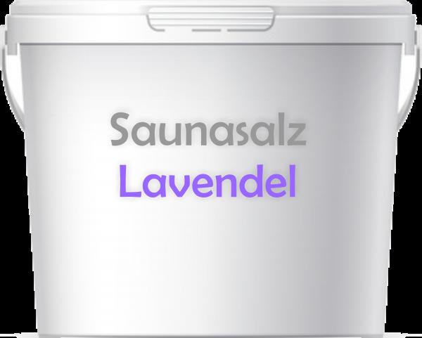 Premium Saunasalz Lavendel mit Arganöl angereichert