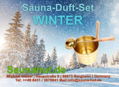 Sauna Duft Set Box WINTER 5 x 100 ml
