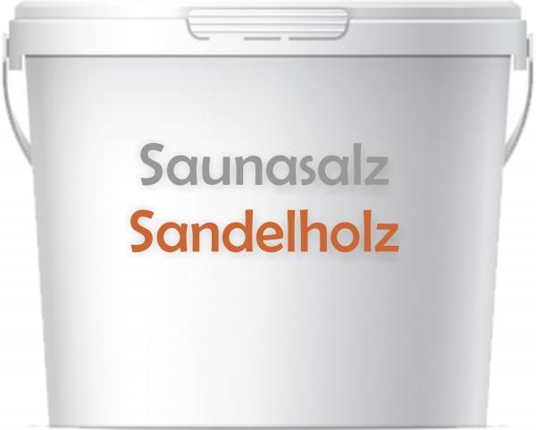 Premium Saunasalz Sandelholz mit Arganöl angereichert