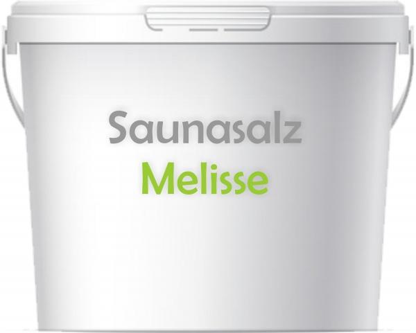 Premium Saunasalz Melisse mit Arganöl