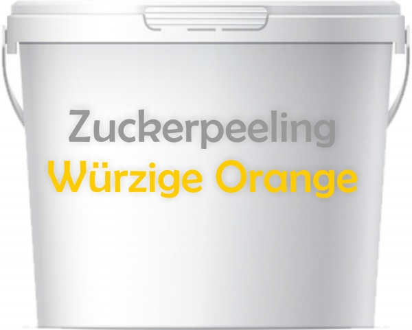 Premium Sauna Peeling Würzige Orange