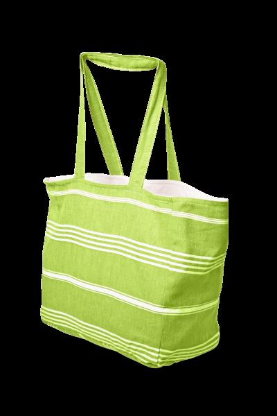Hamamtuch Strandtasche Lemomgrün