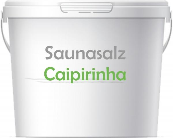 Premium Saunasalz Caipirinha mit Arganöl angereicher