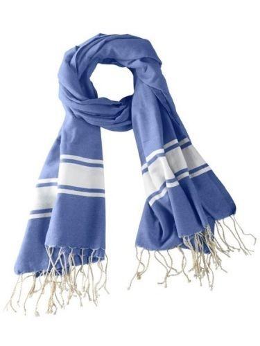 Hamamtuch Fouta Tuch blau 200 cm x 100 cm