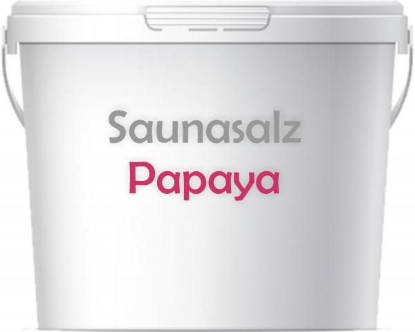 Premium Saunasalz Papaya mit Arganöl