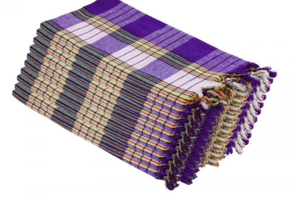 20x Saunatuch Hamamtuch Saunakilt Classic Lavendel
