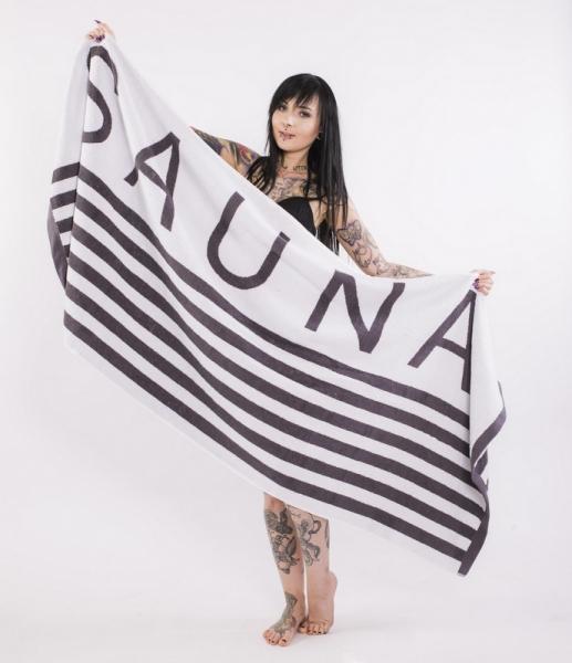 "Premium Saunatuch 195 cm x 80 cm ""Sauna"" XL"