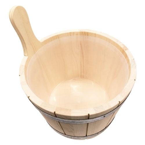 Saunakübel aus Holz 5 Liter