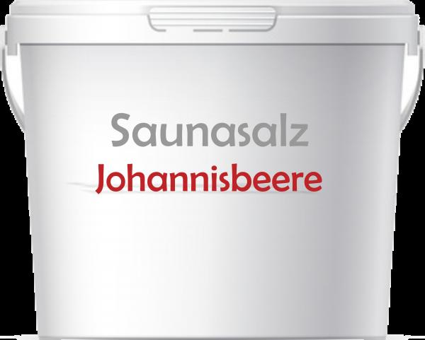 Premium Saunasalz Johannisbeere mit Arganöl angereichert