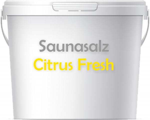 Premium Saunasalz Citrus-Fresh mit Arganöl angereichert