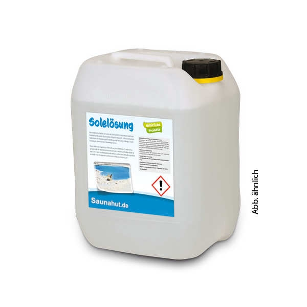 Dampfbad Soleslösung 5 Liter