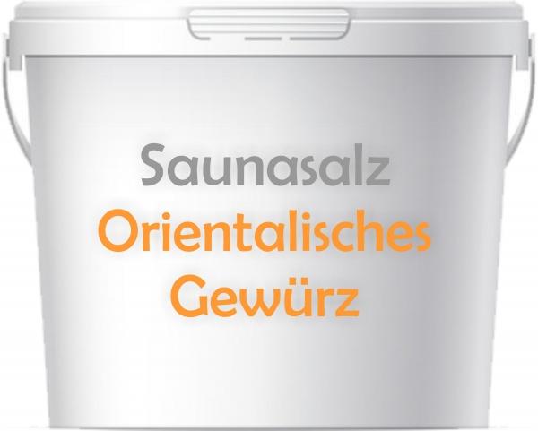 Premium Saunasalz Orientlisches Gewürz mit Arganöl